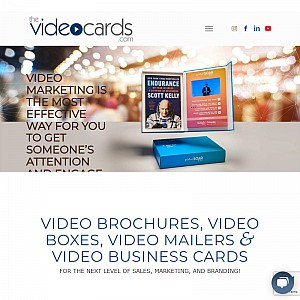 Videocards Produces Custom Printed Video Brochures